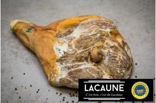 Jambon sec entier démarche IGP Lacaune