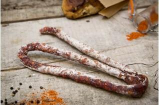 Saucisse sèche fine au piment d'Espelette AOP