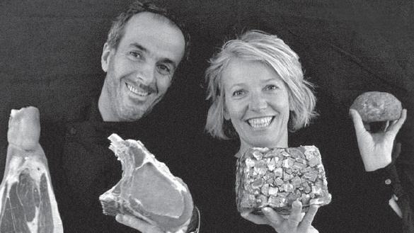 Akim et Marie-Hélène Zerouali